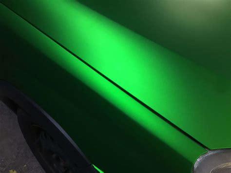 Folie Auto Verde Mat by Autocolant Auto Crom Mat Verde In Stoc