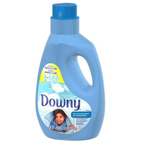 downy fabric softener downy 64 oz non concentrated fabric softener with clean
