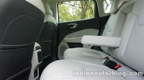 jeep compass 7 seater jeep compass rear seat review indian autos blog