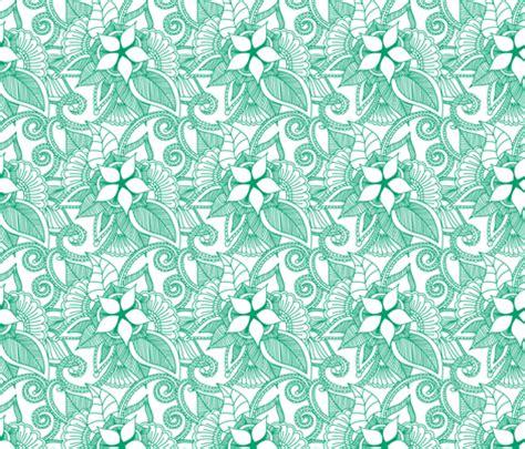 yoga pattern fabric yoga indian henna design kelly green fabric khaus