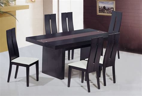 unique frosted glass top modern dinner table set riverside