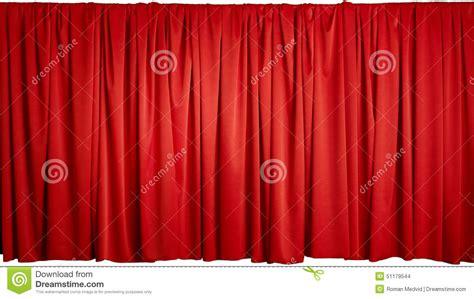 roter vorhang roter vorhang stockfoto bild 51179544