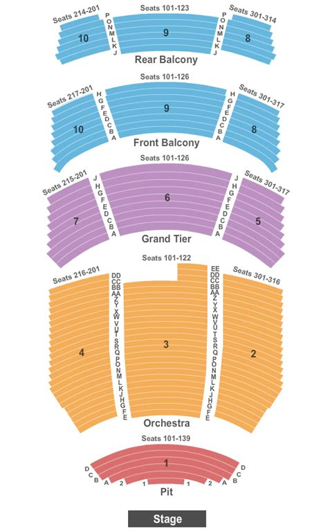 durham performing arts center seating the book of mormon tickets seating chart durham
