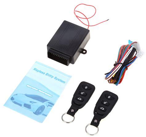 Alarm Mobil Up remote wireless door lock mobil black