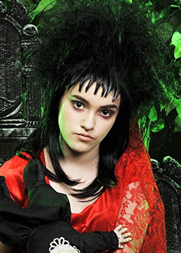 lydia deetz hairstyle womens beetlejuice style gothic bride wig