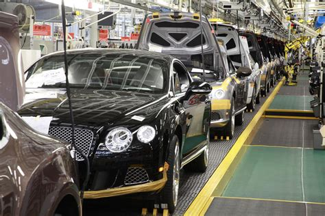 bentley factory bentley motors gets iso 50001 after investing 1 6 billion