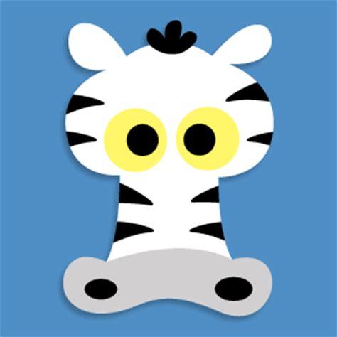 printable zebra masks printable animal masks