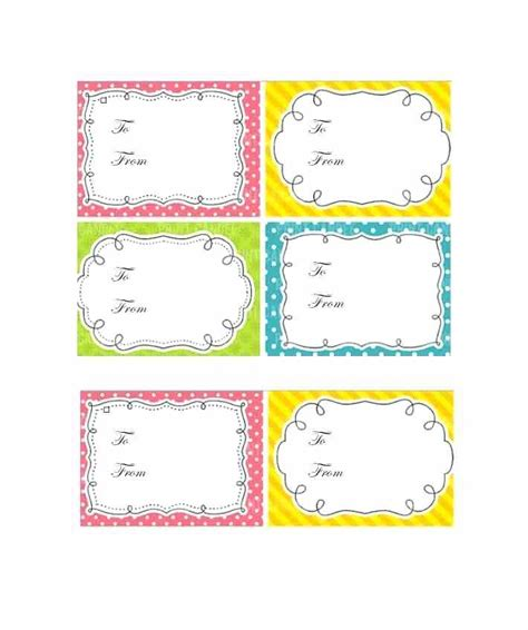 tags for gift bags template template for gift tags buildingcontractor co