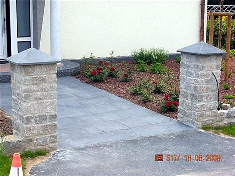 hauseingang gestalten granit fanselow herford eingansbereich treppenstein gestalten