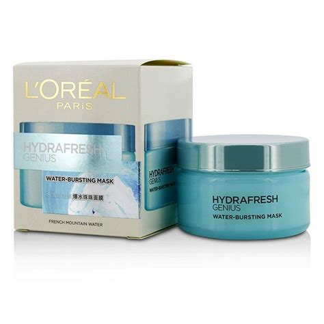 L Oreal Hydrafresh l oreal hydrafresh genius water bursting mask fresh