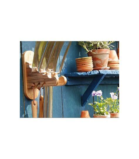 porte jardin en bois porte outils de jardin mural en bois