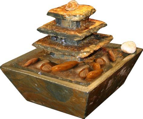 Tischbrunnen Feng Shui by Zimmerbrunnen Pyramide Mini 15 Feng Shui Schieferbrunnen