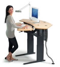 Gallery for gt standing computer desk