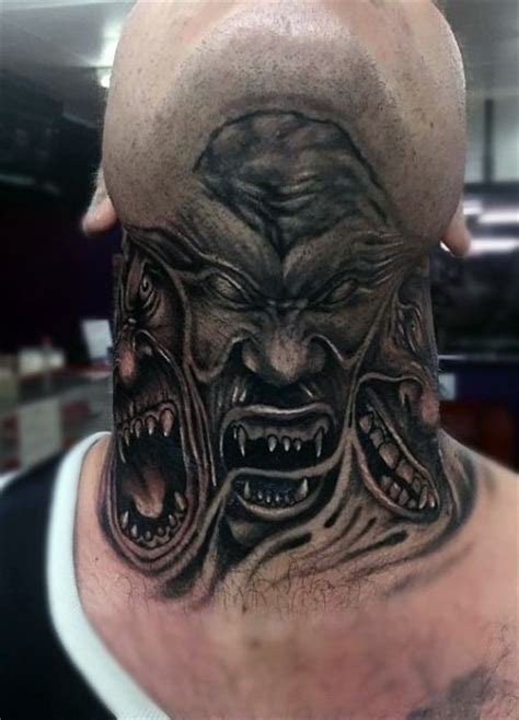 90 demon tattoos for men devilish exterior design ideas