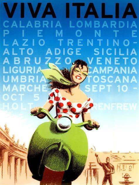 Viva Italia French vintage canvas   hardtofind.