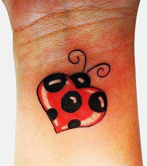 small ladybug tattoos collection of 25 glowing ladybug design