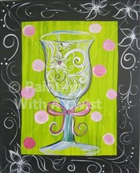 paint with a twist green canvas mania on painted canvas cross
