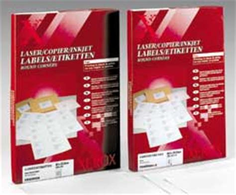 xerox laser labels 003r93177 office supplies online