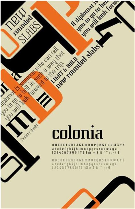 design poster type 23 best images about type specimen posters on pinterest