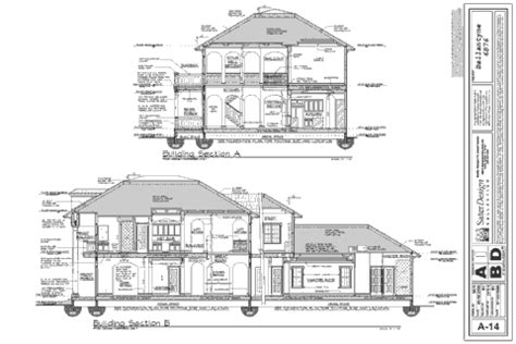 home designer pro cross section what is in a set of house plans sater design collection