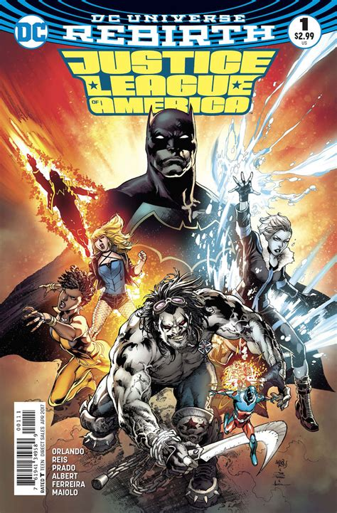 Jla Tp Vol 2 American Dreams Star07133 dc comics rebirth spoilers justice league of america 1