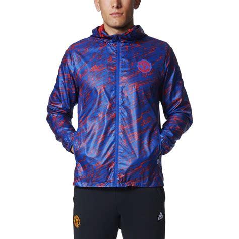 Jaket Winbraker Manchester City adidas manchester united fc windbreaker jacket soccer