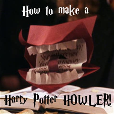 Harry Potter Things To Make Out Of Paper - make your own howler the leaky cauldron org the leaky