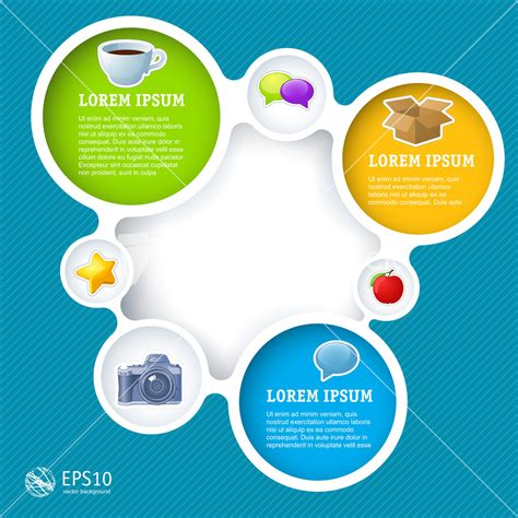 web design vector template stock vector 169 winmaster 2743605 website infographic loop template vector design frame