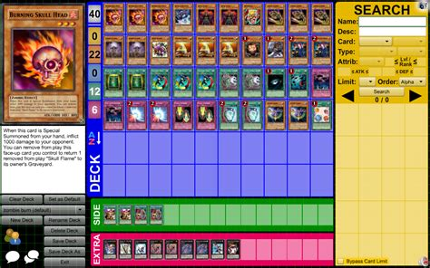 yugioh burn deck overview for lithiumsheep