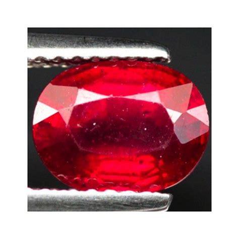 2 17 ct genuine ruby gemstone from madagascar