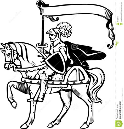 medieval horse coloring page free coloring pages of knight and horse