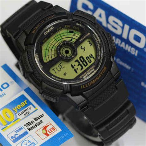 Harga Jam Tangan Merk Casio Original jam tangan casio ae 1100w original