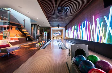 Living Room Lanes Bowling Set by Cave Types Design Ideas Zillow Digs