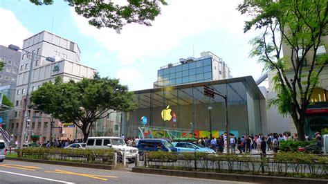 apple omotesando ふーてんのipad ついにオープン apple store omotesando 行列を諦めカウントダウンを見学