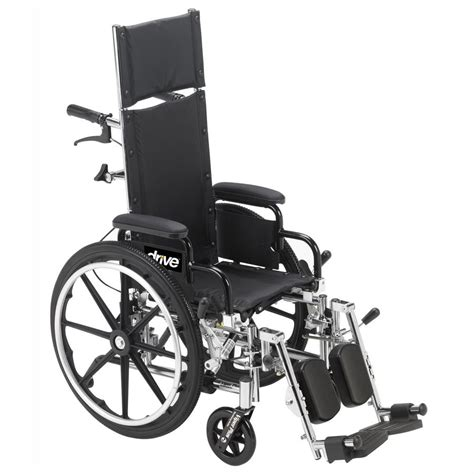 recliner wheel chair drive viper plus pediatric high strength lightweight full