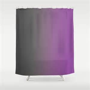 Purple Ombre Curtains Gray To Purple Ombre Shower Curtain By Shelleyscrochetole On Etsy