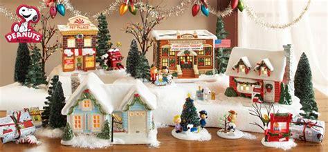 department    peanutscharlie brown christmas village peanuts christmas christmas