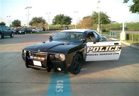 challenger cop car dodge challenger car looks menacing in alvin