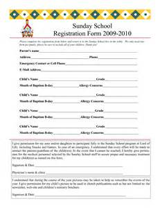 school registration form template word registration form template vnzgames