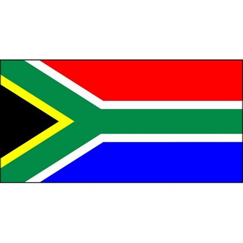 Small Desk Flags South Africa National Flag