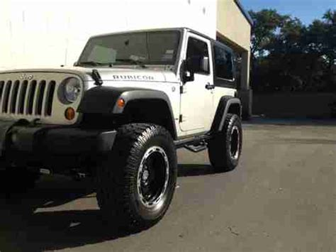 Used Jeep Wrangler Rubicon 2 Door Find Used 2007 Jeep Wrangler Rubicon Sport Utility 2 Door