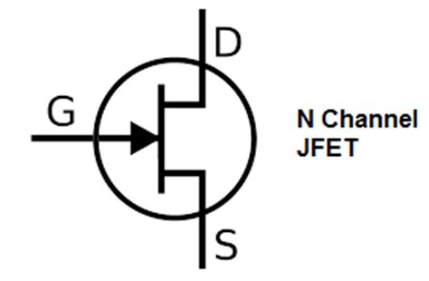 jfet transistor numbers transistor schematic symbols