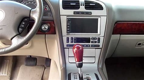2004 lincoln ls interior lincoln ls v8 overview