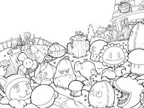 plants vs zombies 2 coloring pages free coloring pages of pvz