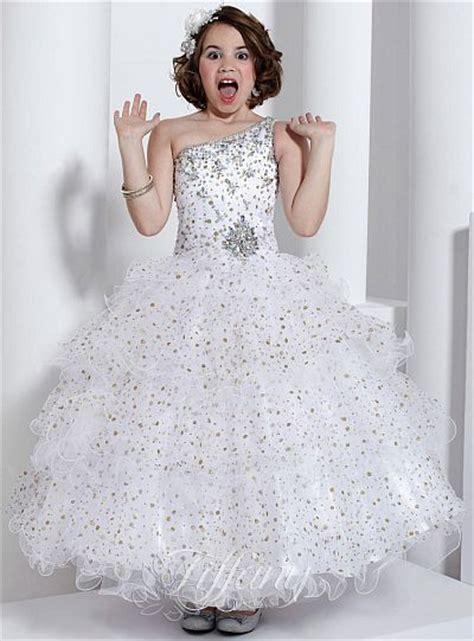 tiffany princess girls winning pageant dress  french