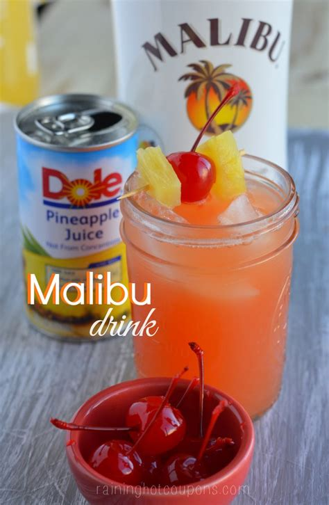 mix with malibu rum simple rum mixed drinks