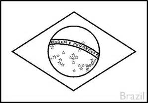 brazil flag coloring page colouring book of flags central and south america