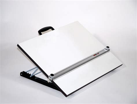 T Drawing Board by Adjustable Angle Portable Drafting Table With Straightedge
