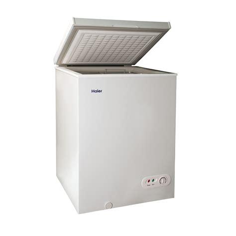 Chest Freezer Haier shop haier 3 5 cu ft chest freezer white at lowes