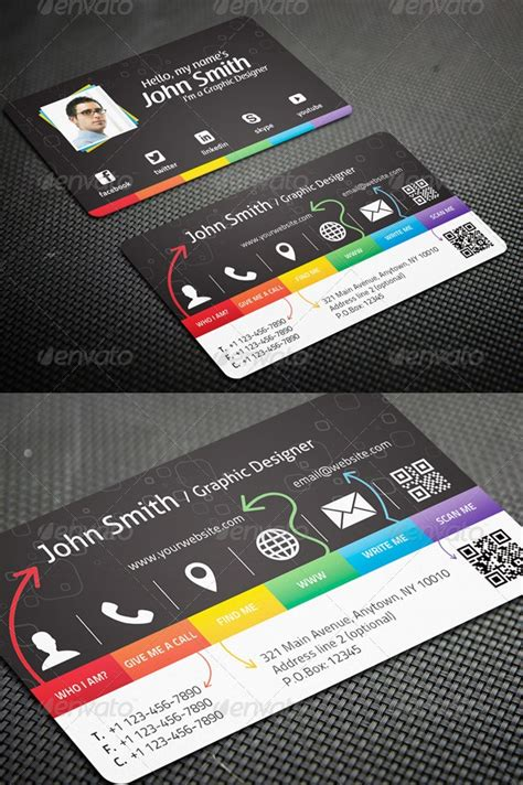premium psd business card template